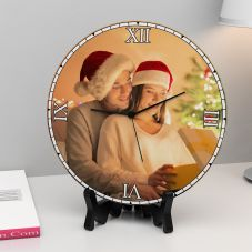 GiftsOnn Unique Personalized Round Clock