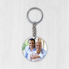 Wooden Photo keychain 1 Sided
