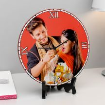 Beautiful Personalized Round Clock